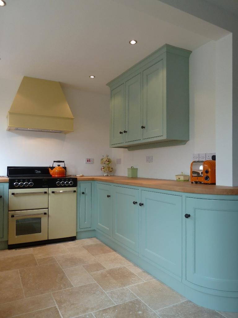Gallery kitchens for Duck egg blue kitchen units
